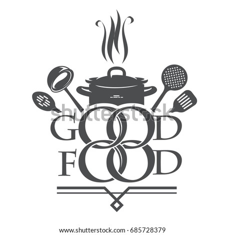 Logo for cooking. The concept of logos: