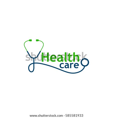 Logo for health care phonendoscope