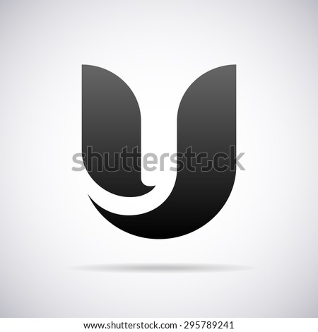 logo for letter u design