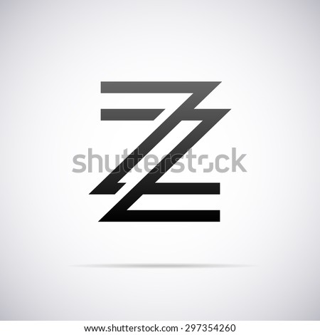 logo for letter z design