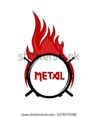 logo for metal music community
