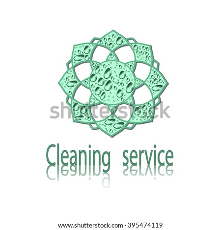 logo for the cleaning service
