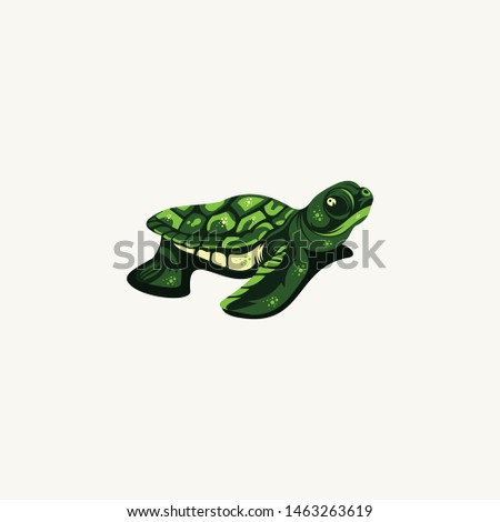 logo for turtle animal lovers.