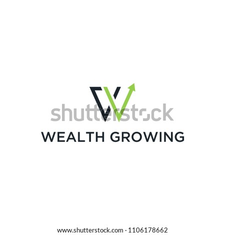 Logo for wealth growing inspiration