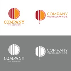Logo for window blinds company using warm colors