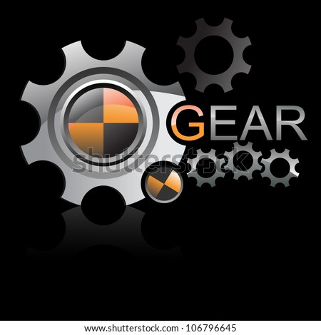 LOGO gear wheels vector