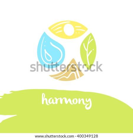 logo harmony  four nature