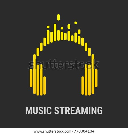 logo headphones musical
