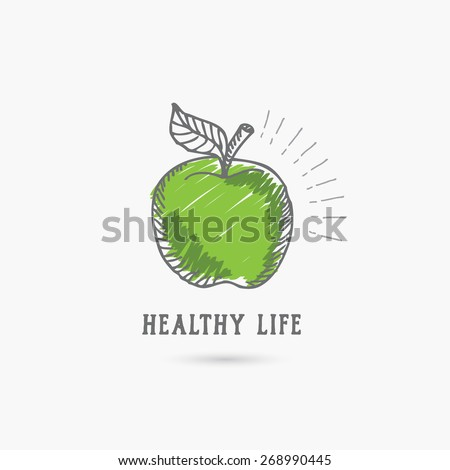 logo healthy lifestyle design