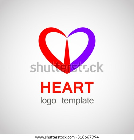 Heart logo free vector download 72001 Free vector for