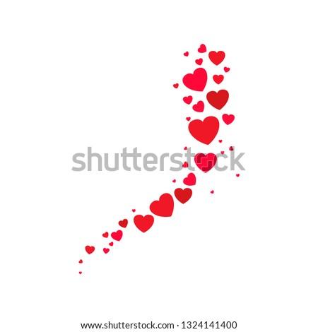 logo heart illustration red