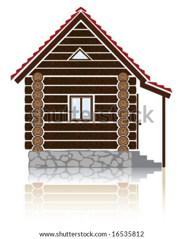 Logo Home Icon W/ Reflection Stock Vector 16535812 : Shutterstock