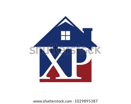 logo house building with