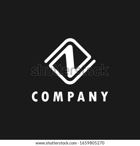 logo inspiration: the letter Z is combined with the letter N design using lines that look elegant. The logo is suitable for business, accounting, building, technology etc. Stock fotó ©