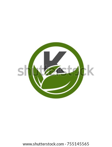 logo k initial for health