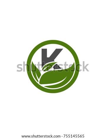 logo k initial for health