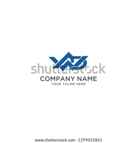 logo Letter W A D Initial illustration Abstract - Vector Zdjęcia stock ©