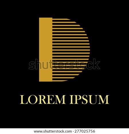 logo letters d