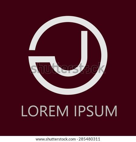 logo letters j