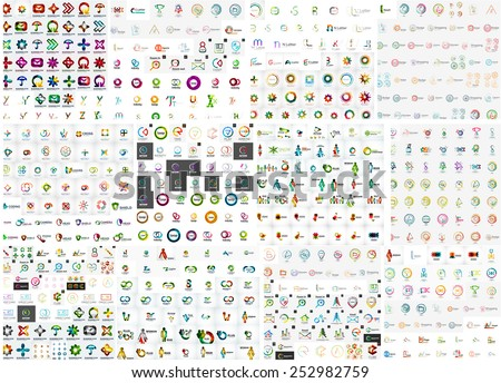 logo mega collection  abstract