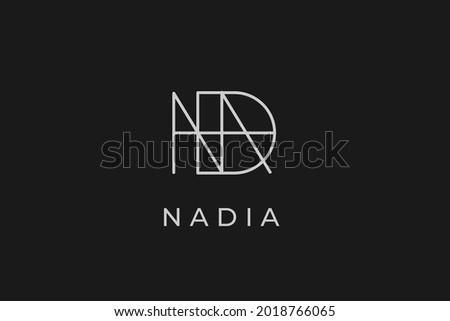 logo name nadia  usable logo