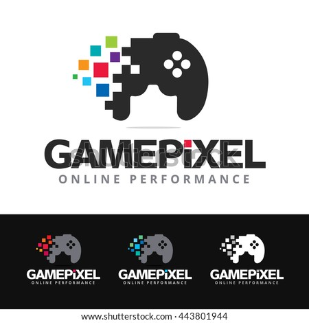 logo of a stylized game pad