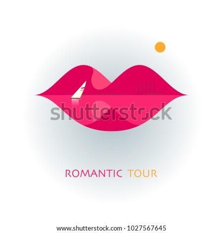 logo of the romantic tour