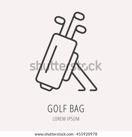 logo or label golf line style
