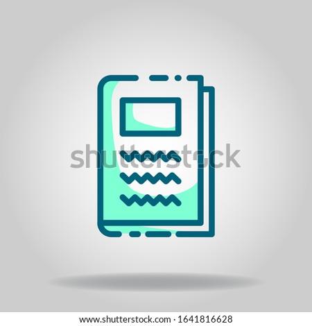 logo or symbol of note book