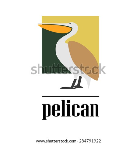 Logo pelican #284791922