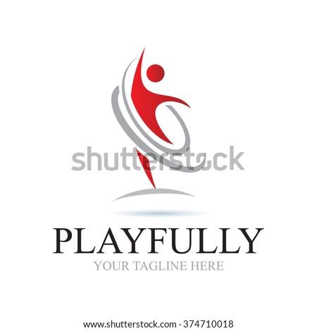 Logo Playfully Icon Element Template Design Logos
