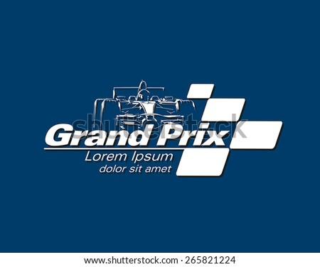 logo racing event