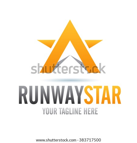 logo runway star icon element