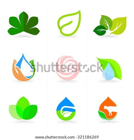 logo set vectornaturenature