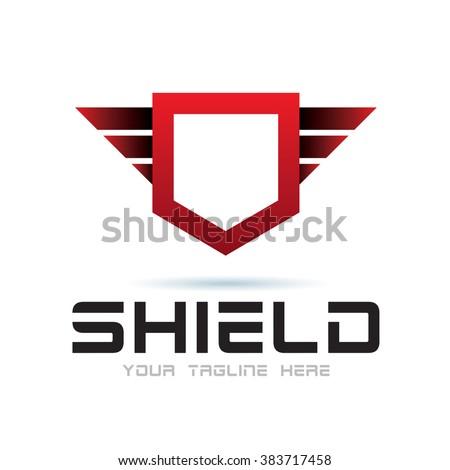 Logo Shield Icon Element Template Design Logos