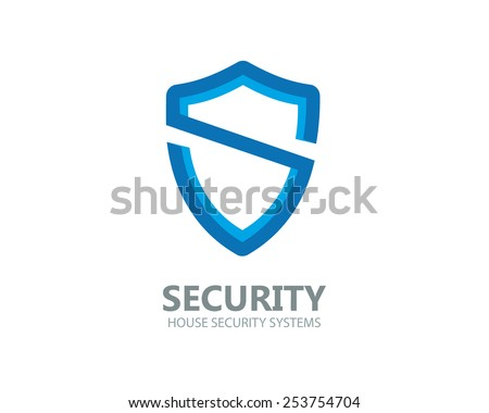 Logo shield in the form of the letter S