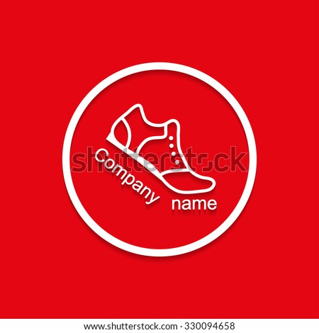 logo sneakers with shadow bent