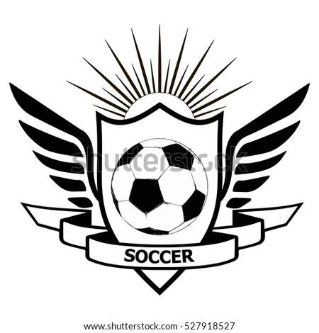 Royalty Free Soccer Badge Icon Symbol Set Eps 10 186977579 Stock