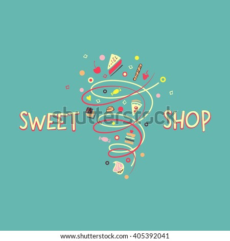 logo template for confectionery