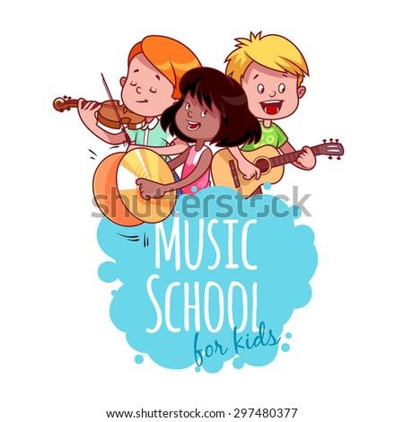 logo template for music school