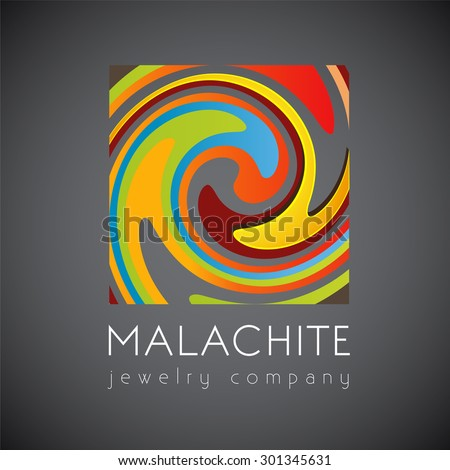 logo template  malachite
