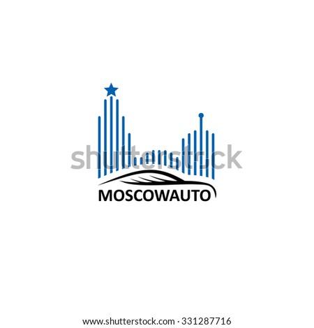 logo vector car auto moscow