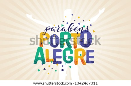 logo with text in brazilian