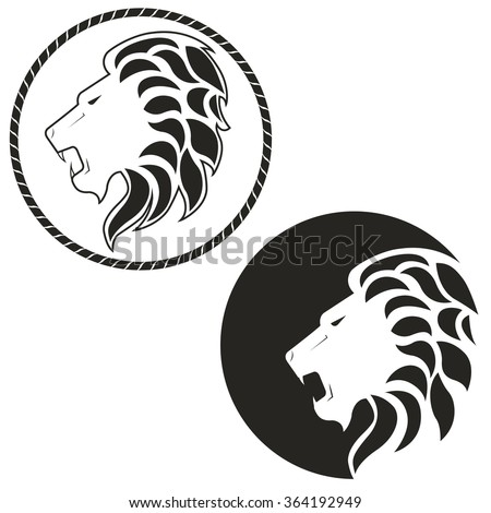 logo with the image of a lion