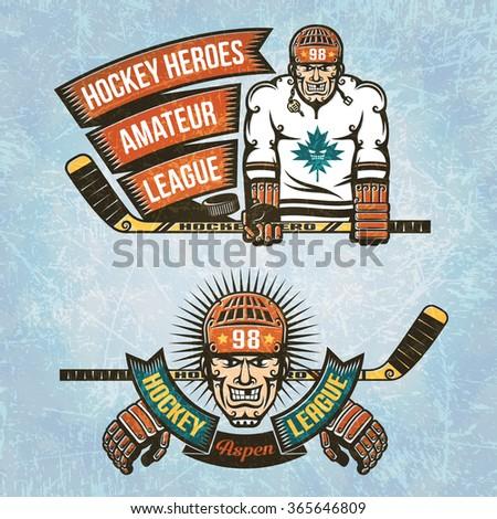 logos amateur hockey league