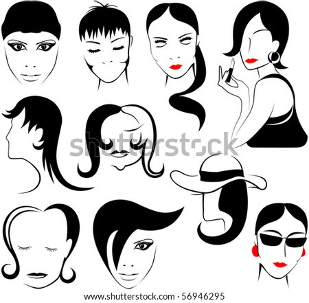 logos for beauty salons or barber