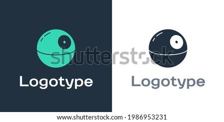 logotype death star icon