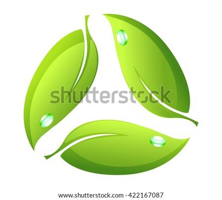Logotype - leaf