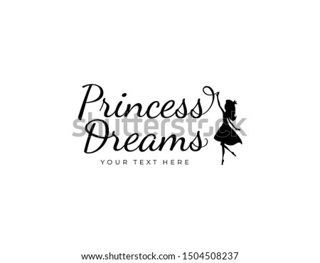 logotype princess dreams with