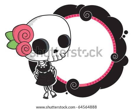 Lola Little http://www.shutterstock.com/pic-64564888/stock-vector-lola-little-lady-grimm-cool-gothic-vector-style-graphic-elements.html